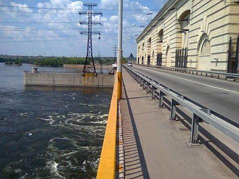 Дамба Каховської ГЕС до весняного водопілля готова