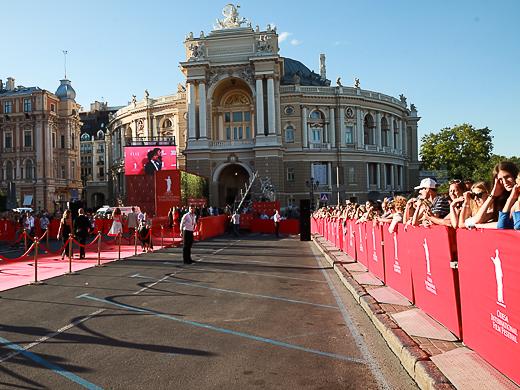 VIII Одесский международный кинофестиваль открыт. Фоторепортаж