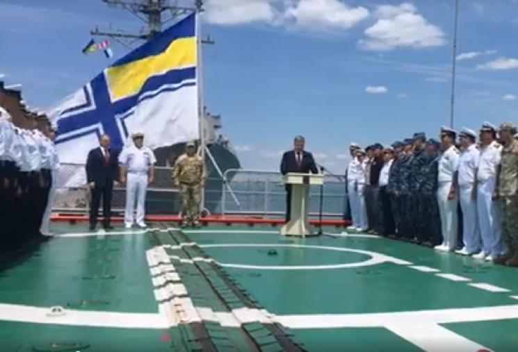 Порошенко під час візиту на Одещину пообіцяв наблизити армію до стандартів НАТО