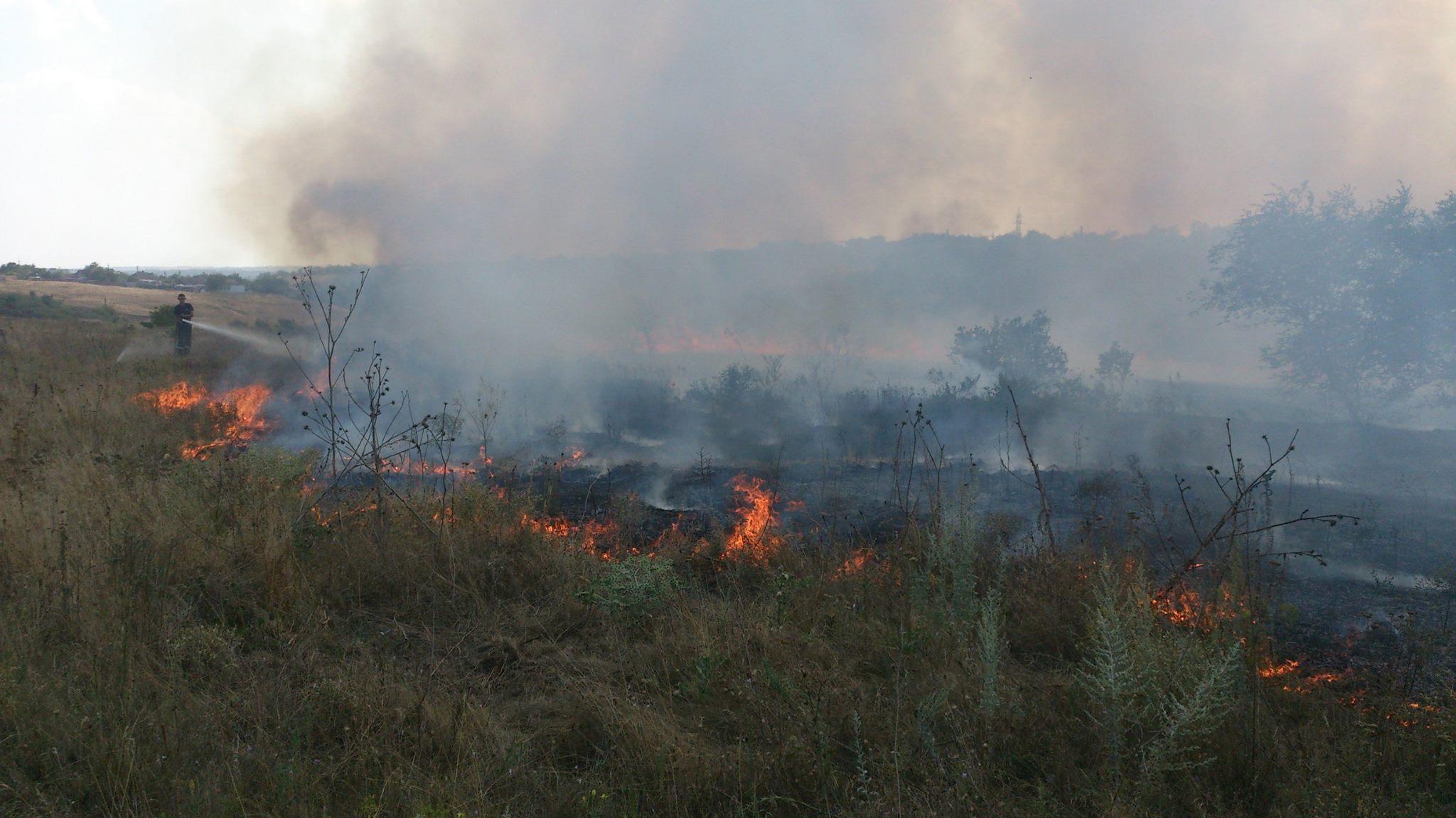Николаевщина бьет рекорды по пожарам: 43 за сутки