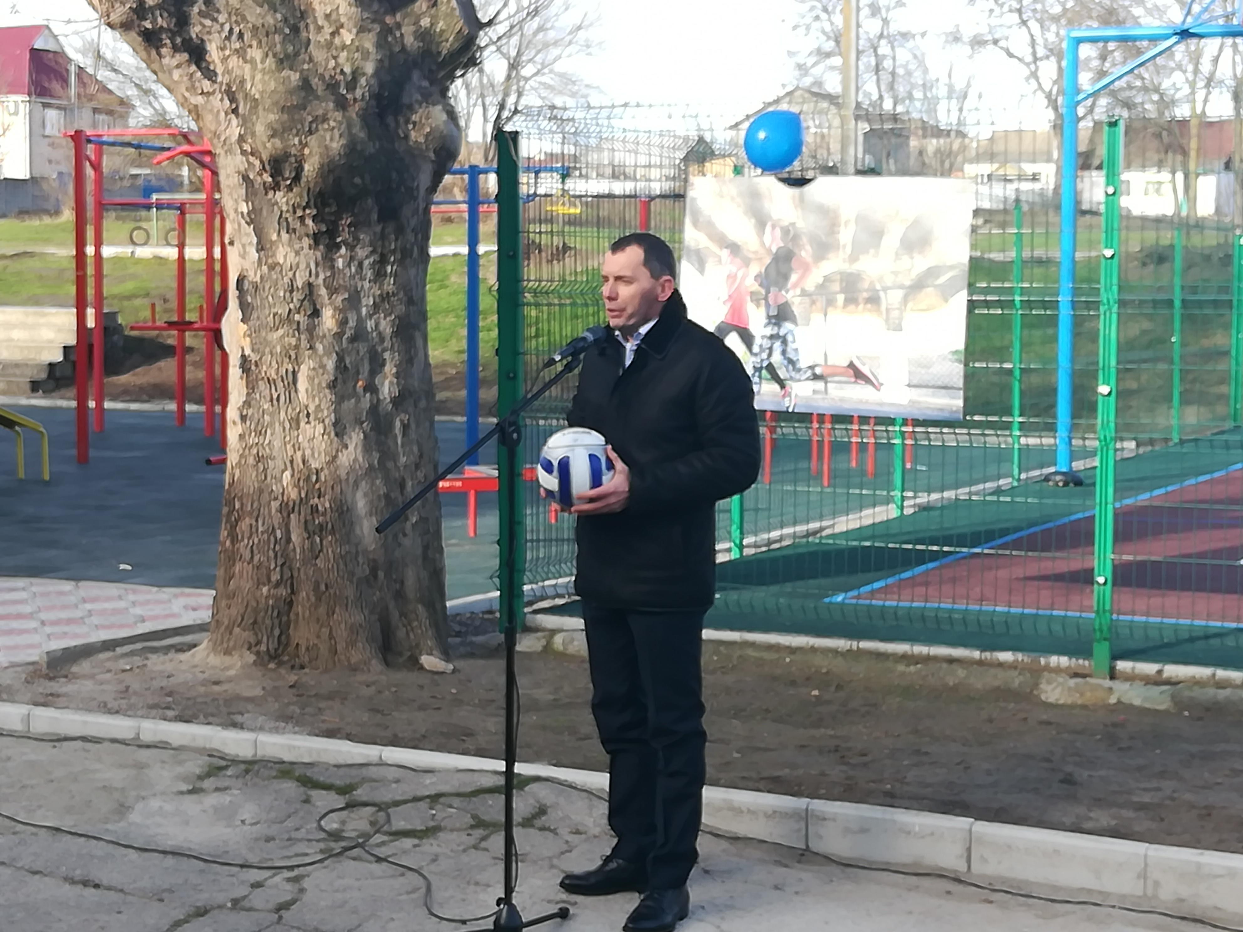 Сьогодні у Херсоні на базі школи №18 відкриється потужний спортивний майданчик