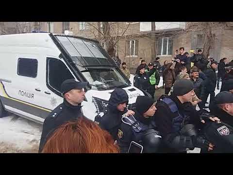 В Запорожье участники АТО устроили потасовку с полицией: нескольких человек задержали