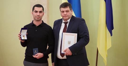 Самого молодого председателя ОТО из Херсонской области наградили «за верность»