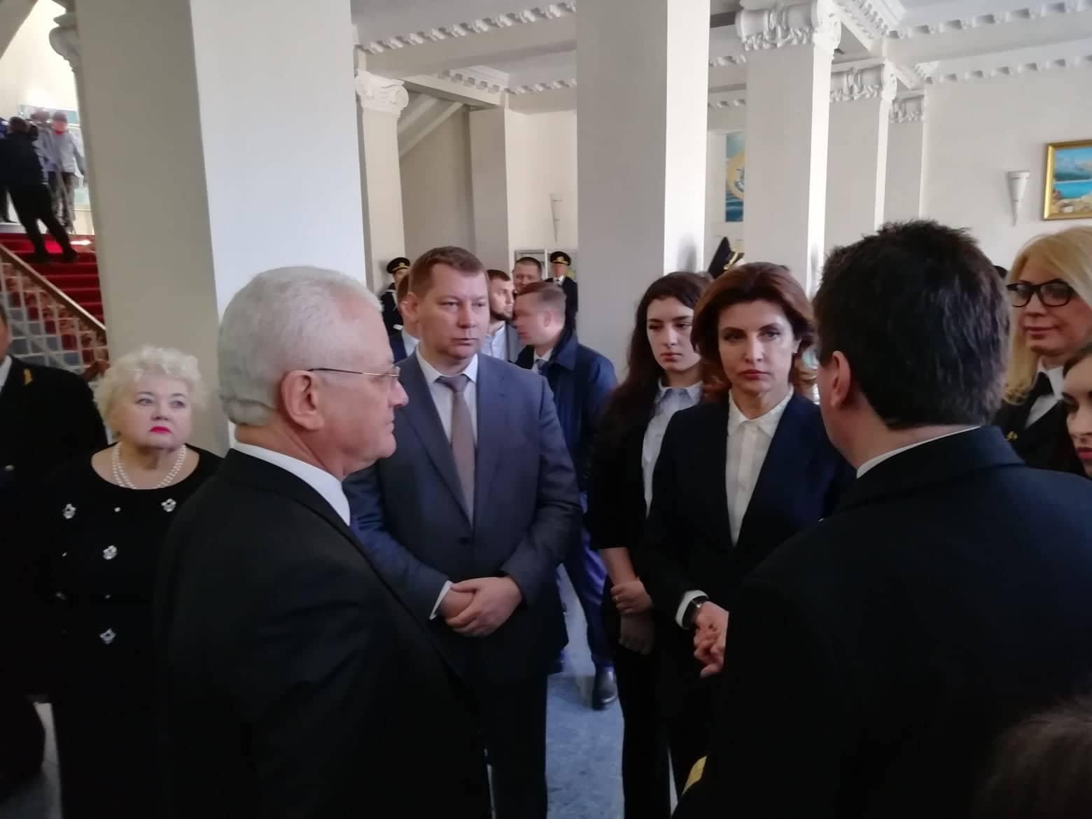 Що робила Марина Порошенко під час візиту на Херсонщину