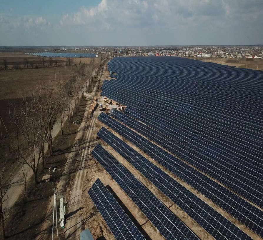 В Херсонській області ввели в експлуатацію Олешківську сонячну електростанцію