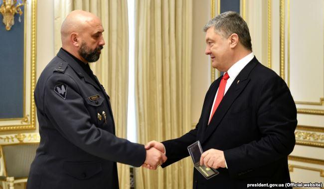 Петро Порошенко підписав указ про призначення полковника Сергія Кривоноса заступником секретаря Ради національної безпеки та оборони