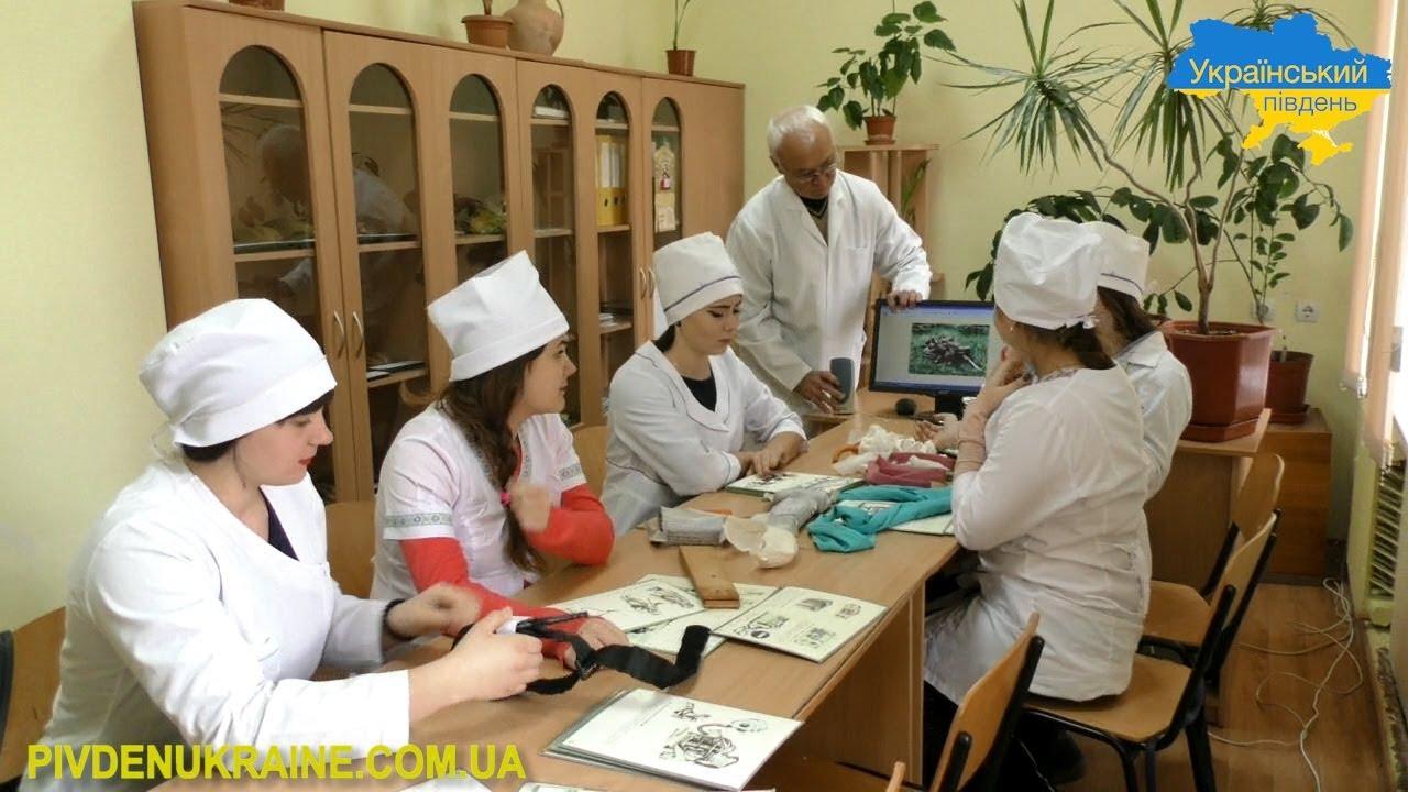 У Бериславському медичному коледжі вчитимуть на військових фельдшерів