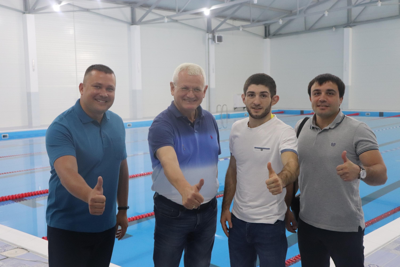 Переможець чемпіонату світу з вільної боротьби серед юніорів відвідав рідний виш у Херсоні