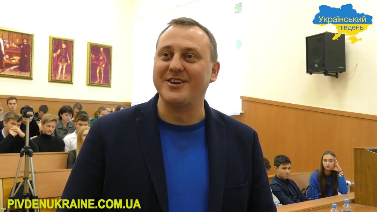 Директор «Одеської кіностудії» презентував у Херсоні свою книгу