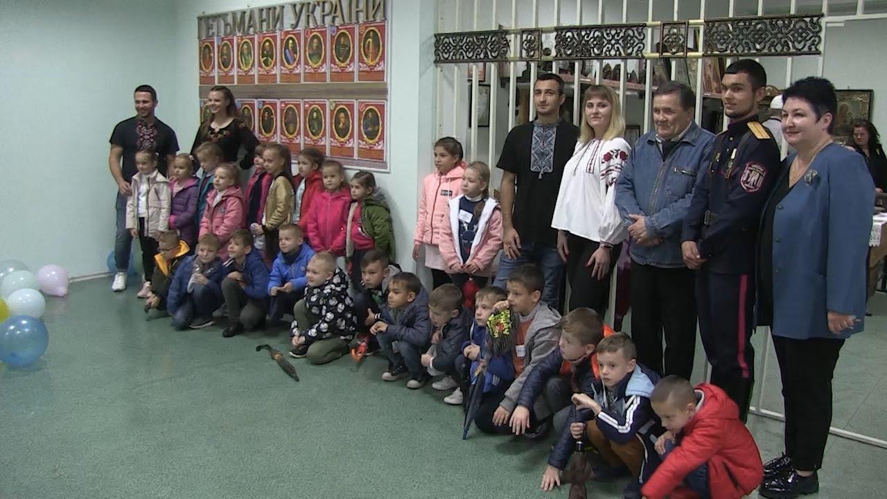 Для школярів у Новій Каховці провели екскурсію у «Музеї козацької слави»
