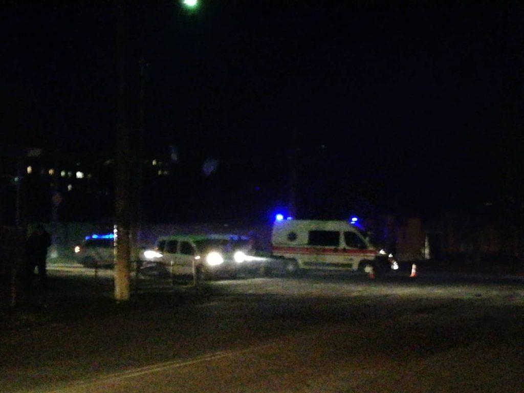 В Херсоне в аварию попала скорая помощь