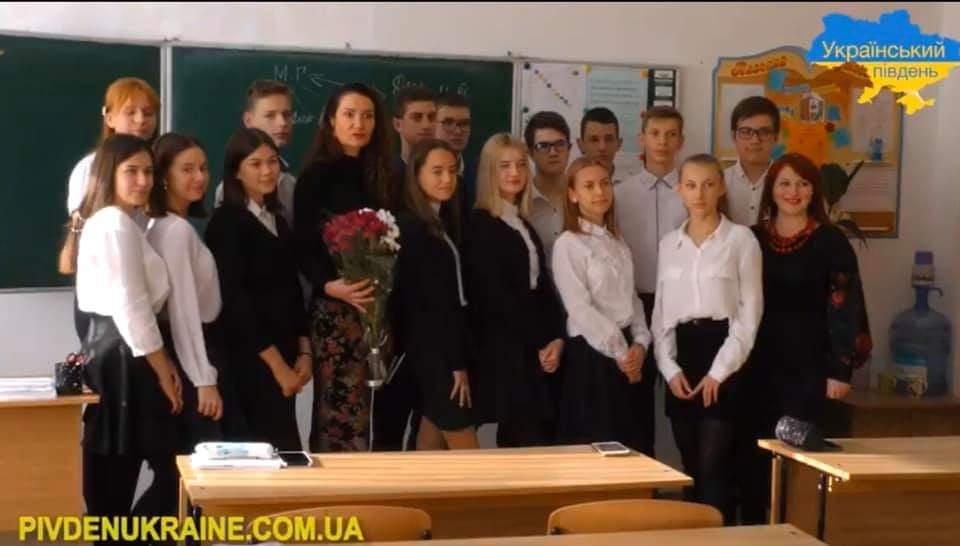Перед школярами звітували депутати Херсонської міської ради (Відео)