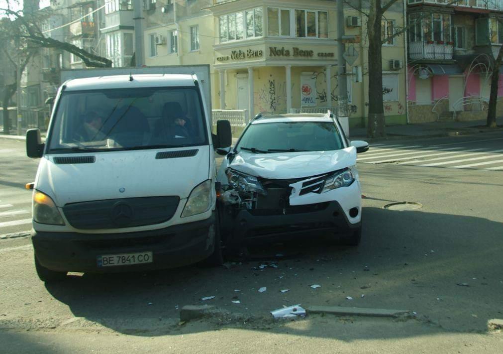 ДТП на вулиці Театральній