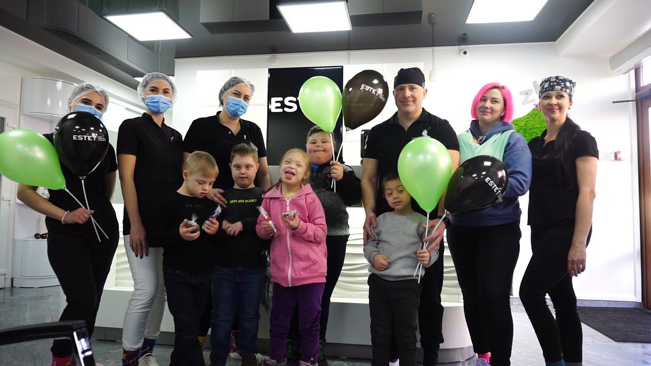У стоматологічній клініці херсонські лікарі провели безкоштовний огляд та лікування дітей із синдромом Дауна (відео)