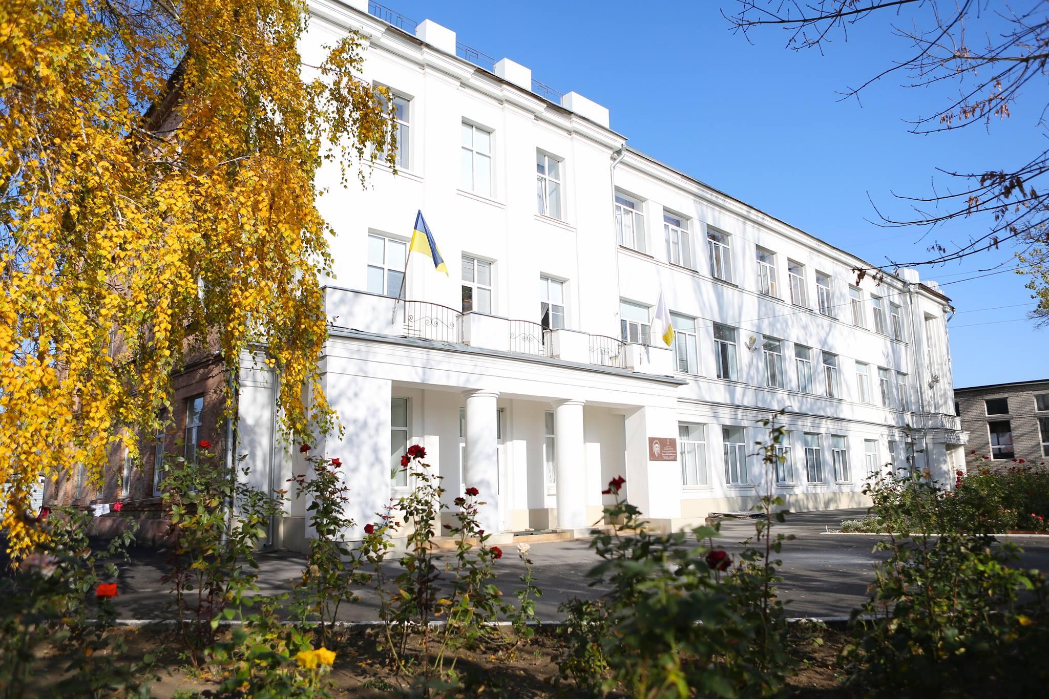 В Херсоні триває реконструкція Школи гуманітарної праці