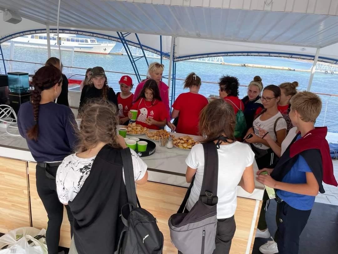На острові Джарилгач пройшла екологічна акція